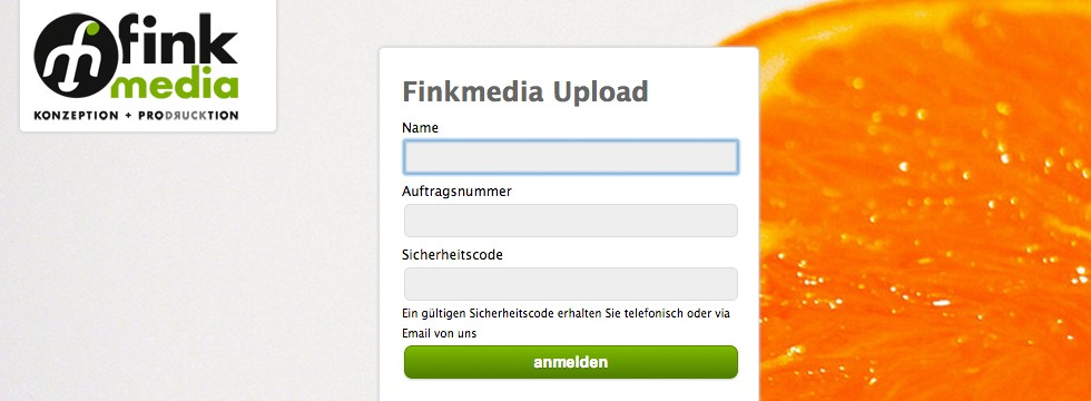 Finkmedia Upload