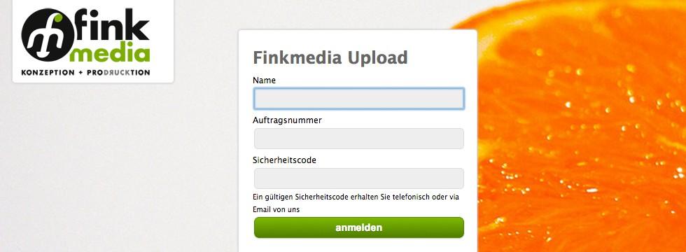 Finkmedia Upload